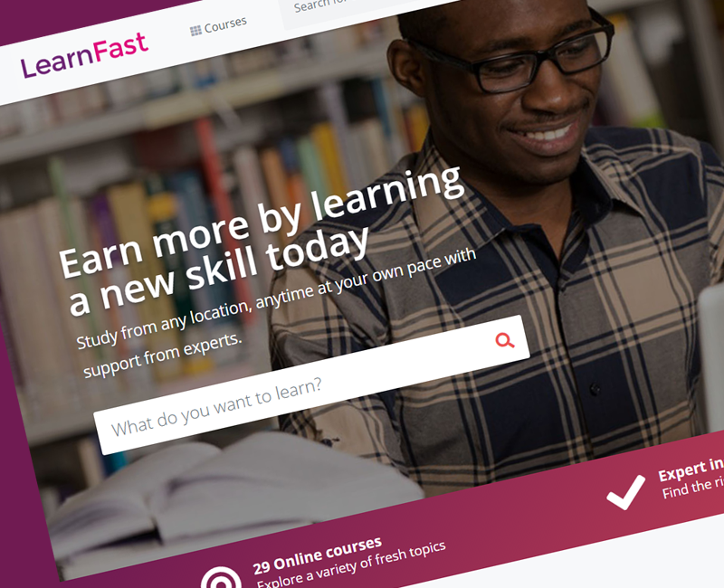 LearnFast - Online Course Website